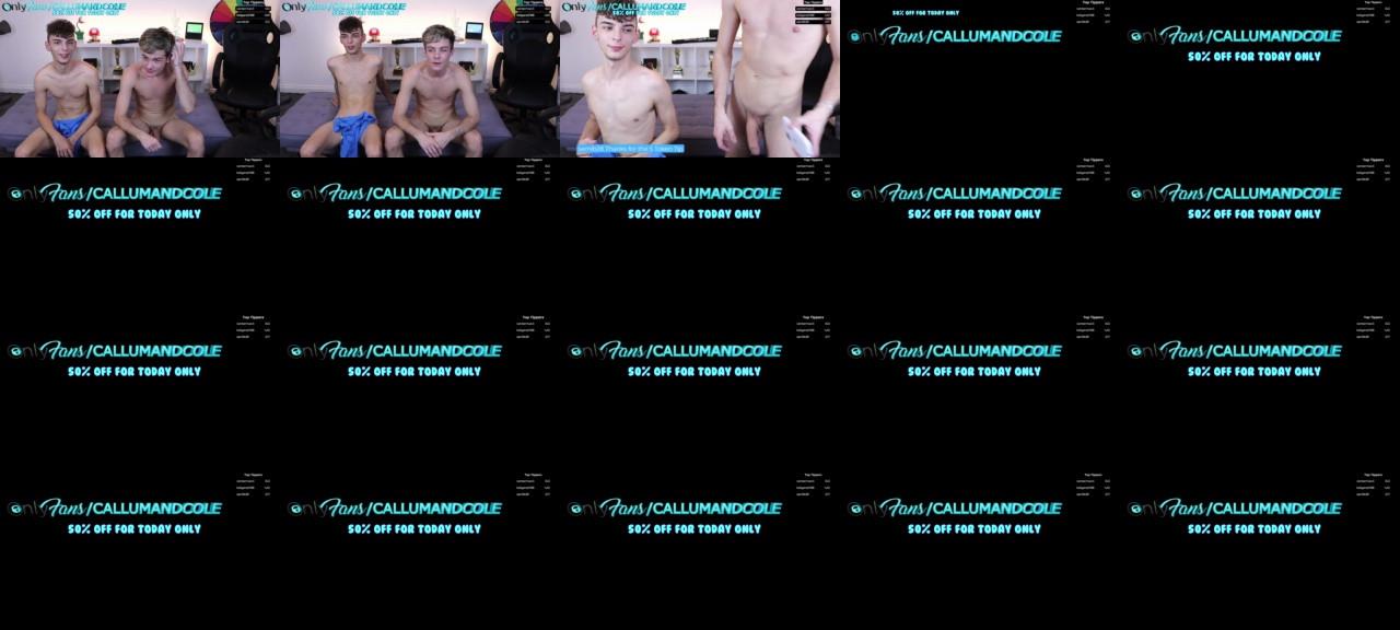Callumandcole Chaturbate 30-10-2020 video stocking