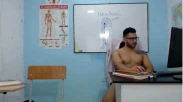 Sergio_In_Class Chaturbate 24-11-2020 Male Naked