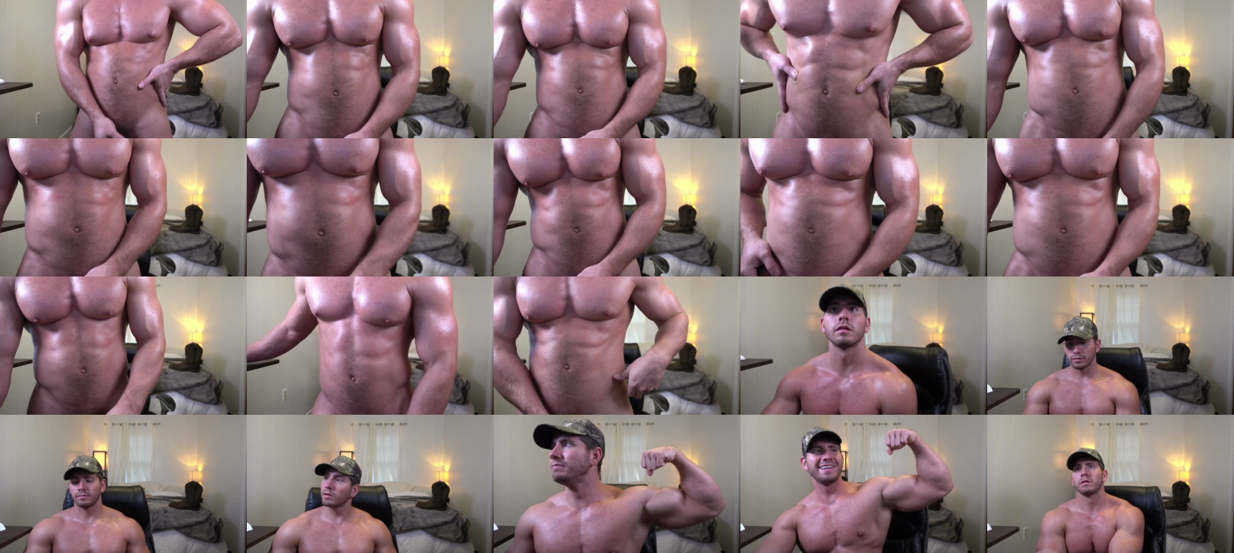Hotmuscles6t9 Chaturbate 24-09-2021 Male Topless