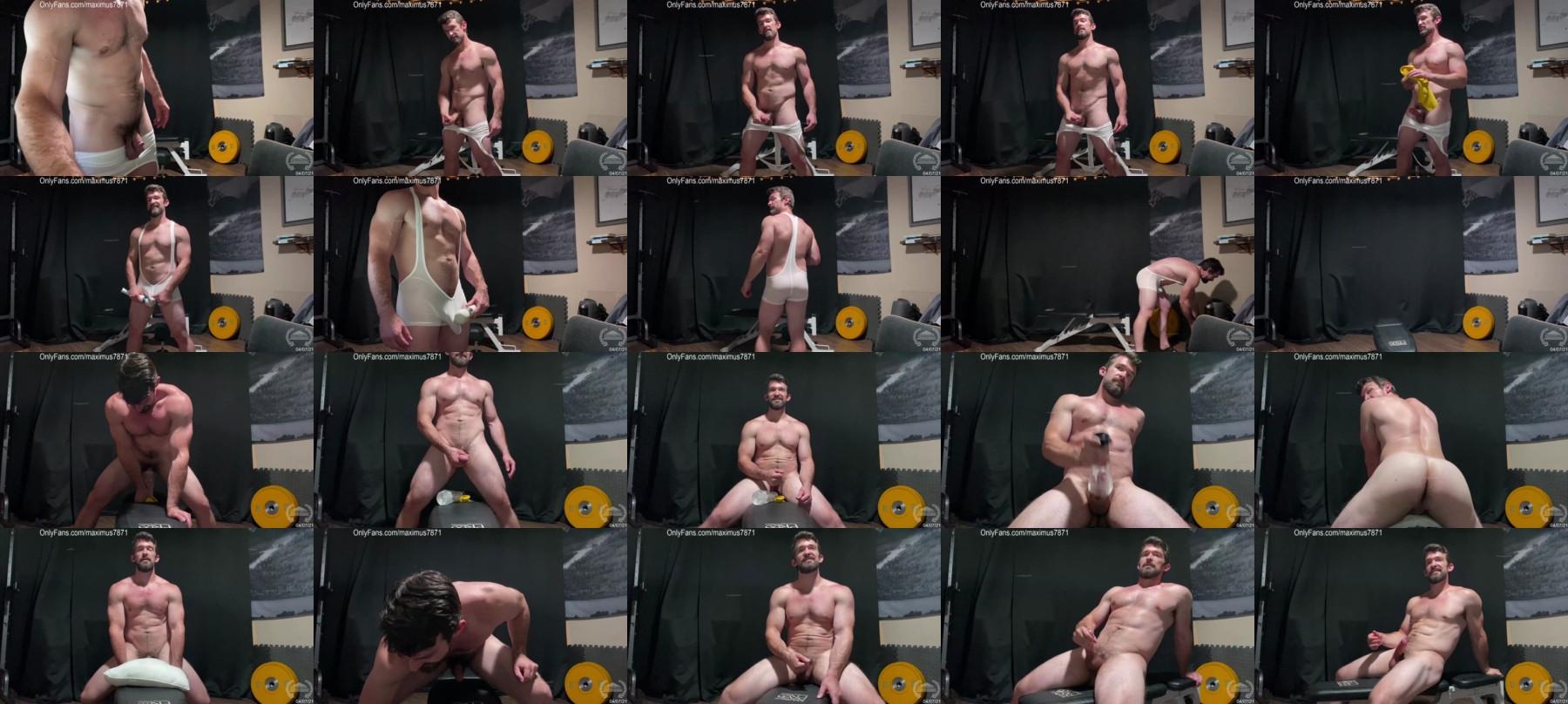 Maximus_787 Chaturbate 08-04-2021 Male Porn