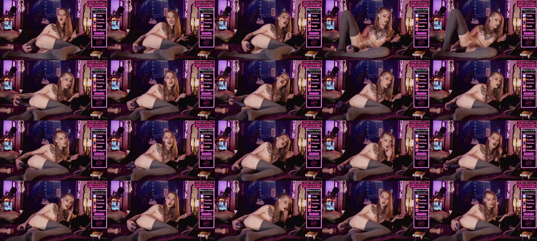 Missredline Chaturbate 15-04-2021 Trans Topless
