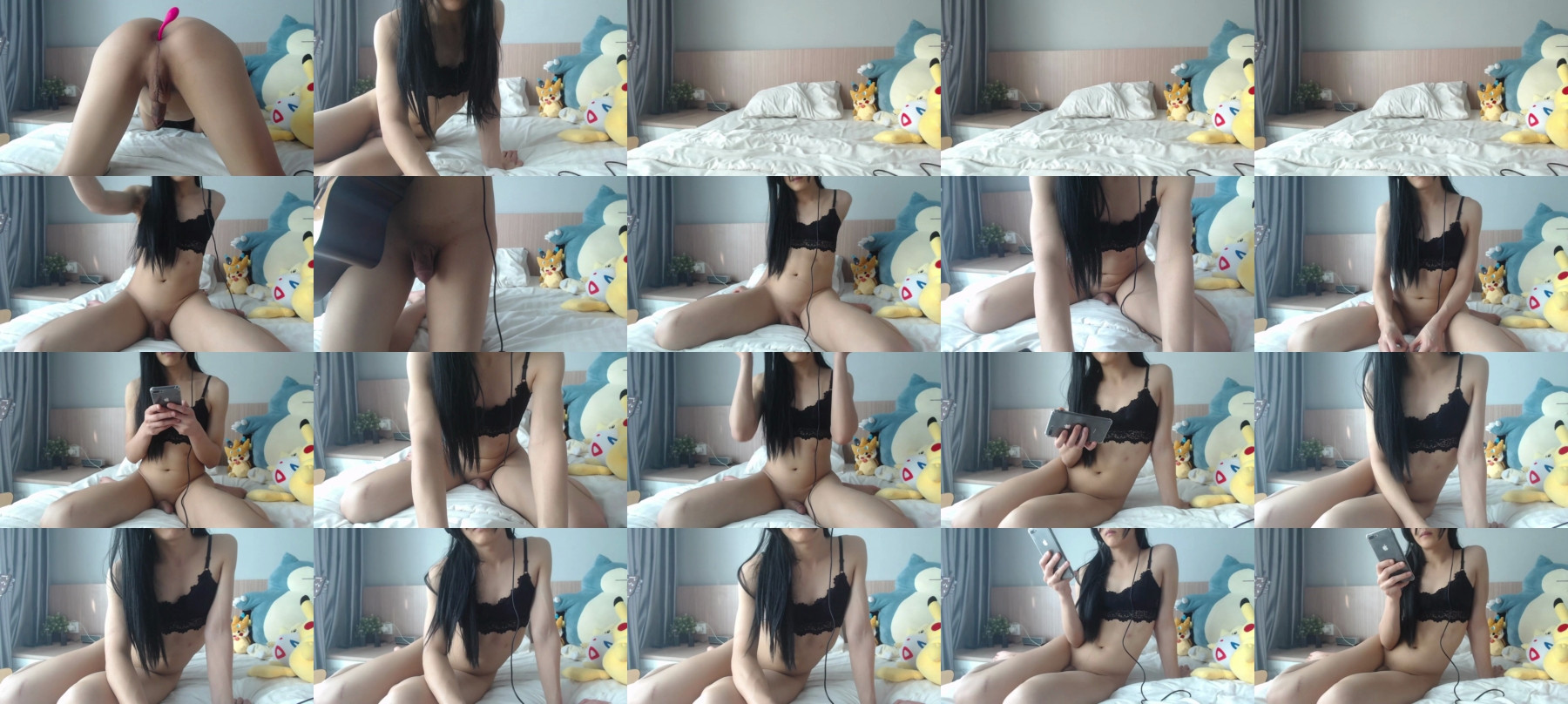 Loveypikachu Chaturbate 20-04-2021 Trans Naked