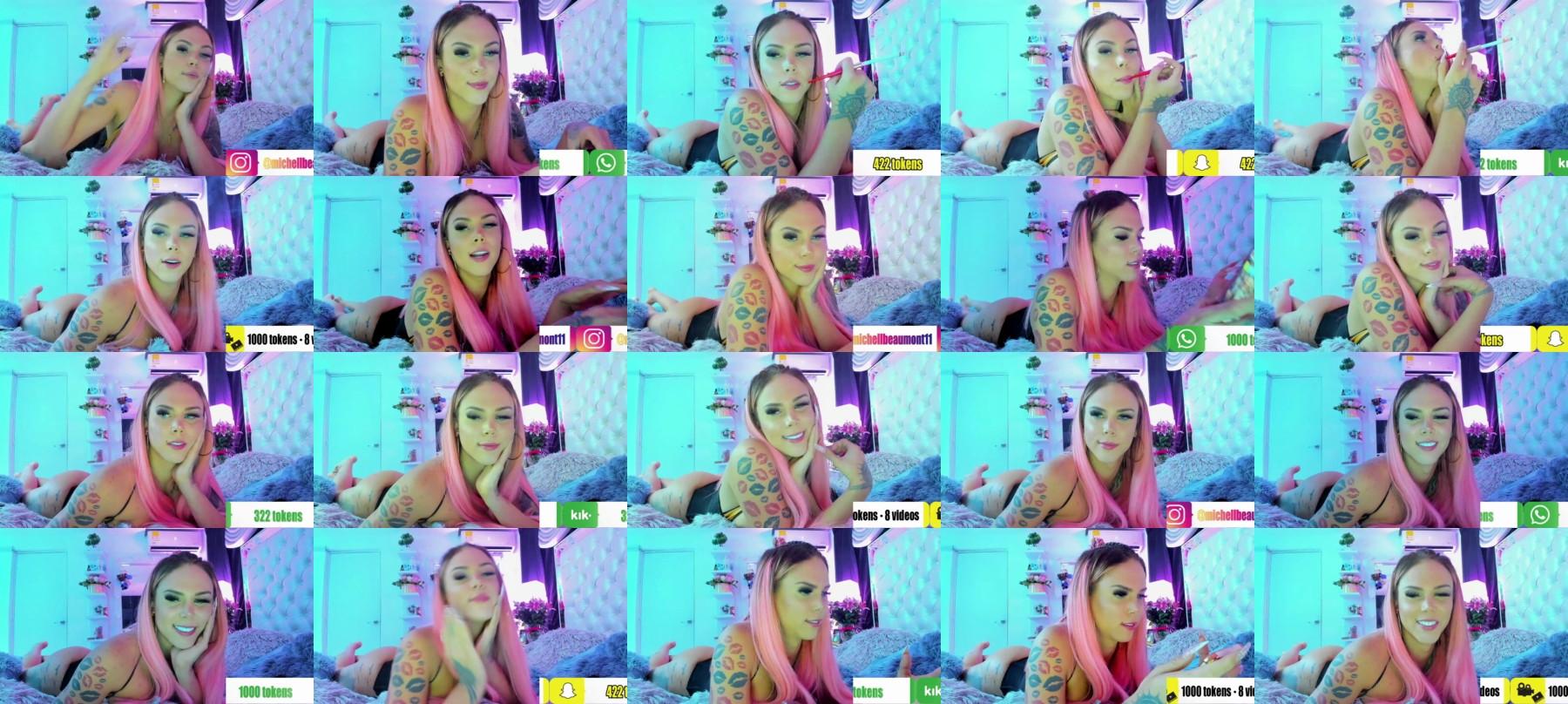 Sexxymichel Chaturbate 20-04-2021 Trans Video