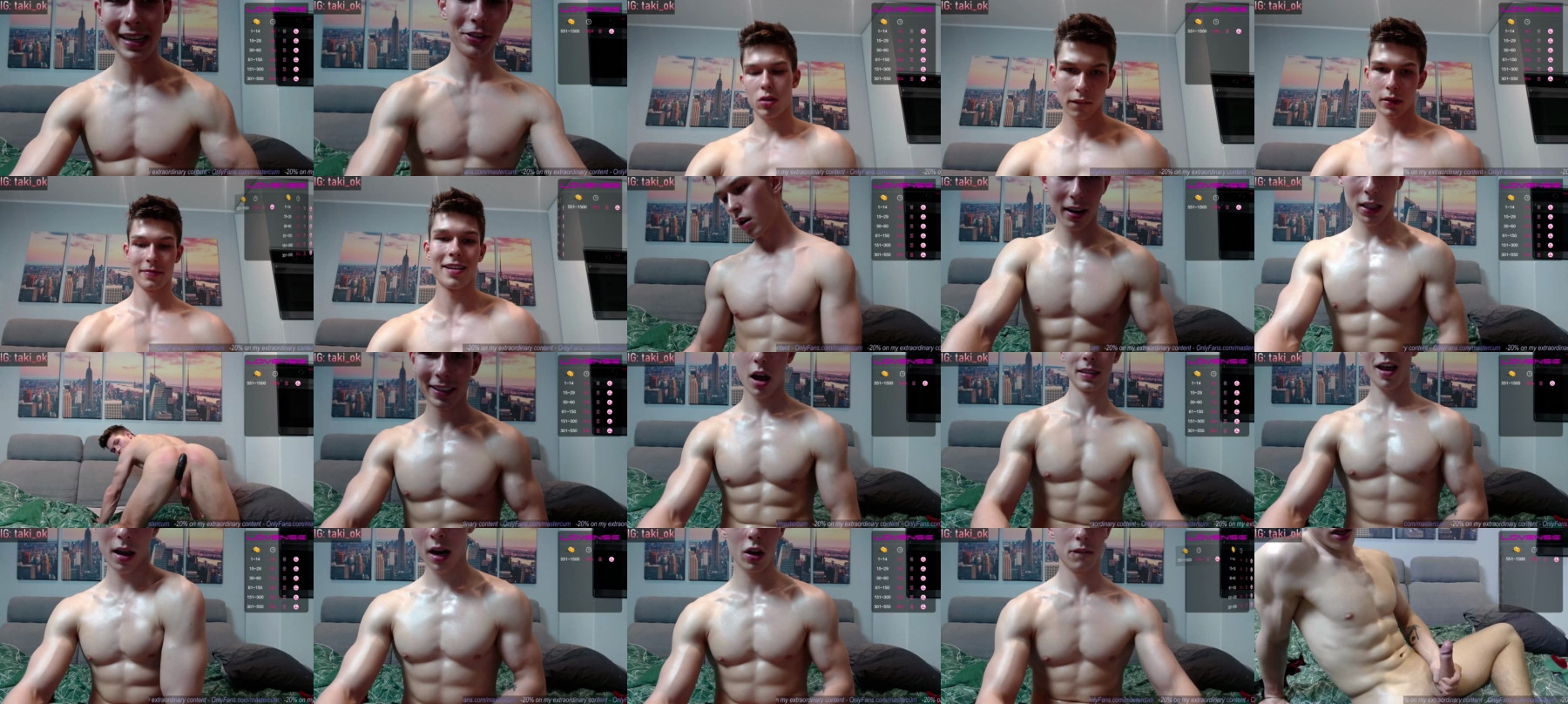 Destroy_Boy Chaturbate 12-05-2021 Male Topless