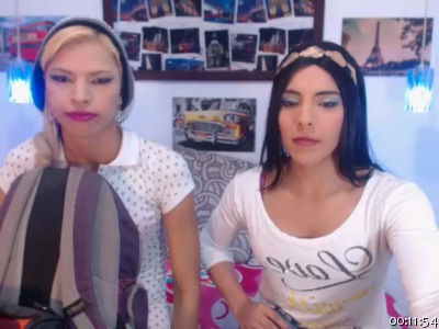 Image twotrannyhots Chaturbate 10-09-2016 Topless