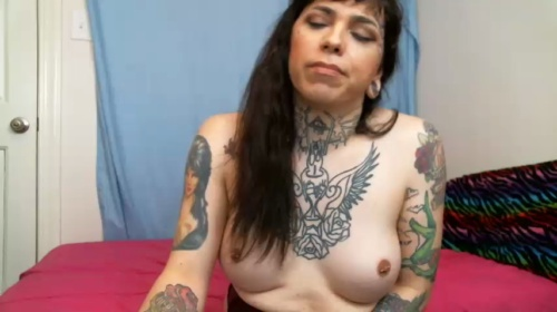 Image trixxyvontease ts 10-04-2017 Chaturbate