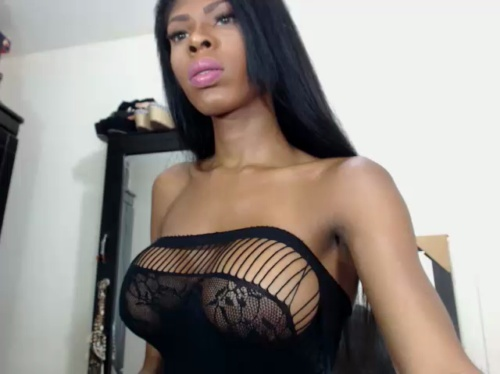 Image queengiselle ts 23-04-2017 Chaturbate