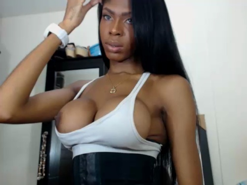 Image queengiselle ts 19-05-2017 Chaturbate