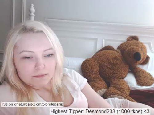 Image blondeparis ts 03-06-2017 Chaturbate