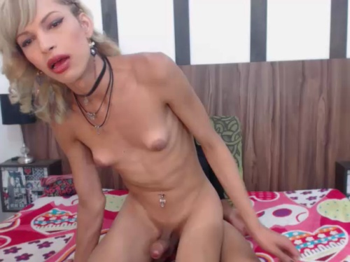Image twotrannyhots Chaturbate 16-08-2017 Topless