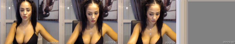 ZinaOuloulou Cam4 25-10-2017